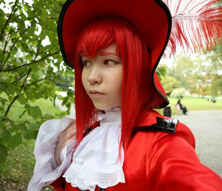 My madam red cosplay #tracon2016 #finnishcosplayer #madamredcosplayer #kuroshitsuji