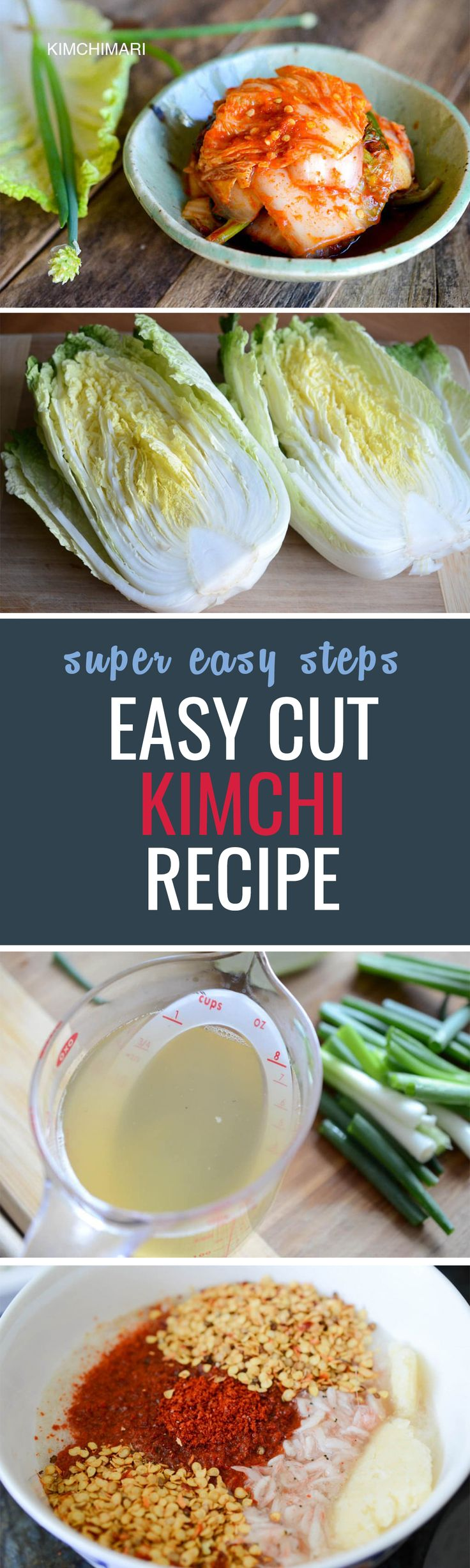 Super easy kimchi recipe, try it at home tonight!