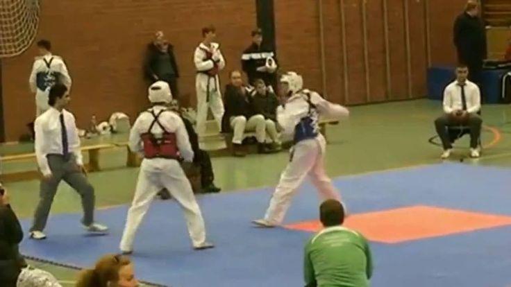#태권도 - #Taekwondo - #video #Deutschland - Vollkontakt-Turnier nach internationalem Regelwerk