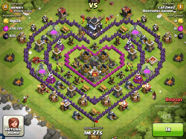 how to build a base on clash of clans