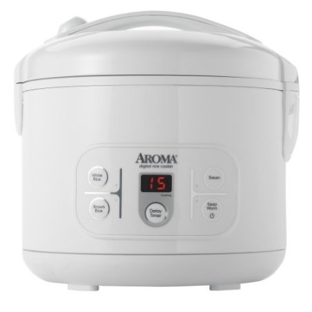 Aroma ARC-996 12-Cup (Cooked) Digital Rice Cooker and Food Steamer, White: http://Amazon.com: Kitchen  Dining http://computer-s.com/rice-cookers/aroma-digital-rice-cooker-and-food-steamer/