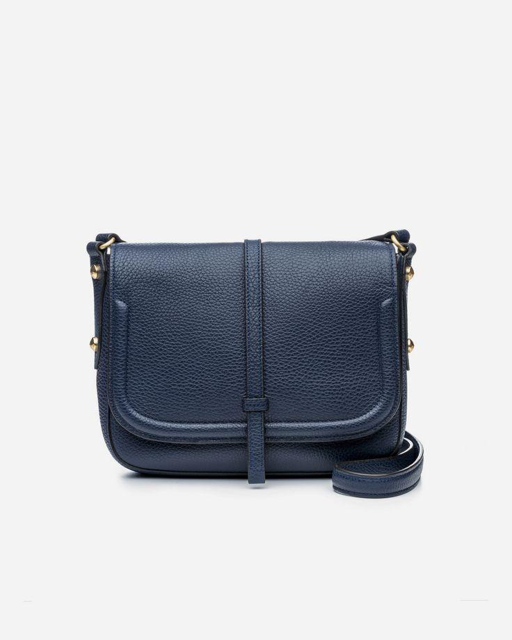 Allisyn Saddle Bag - Navy
