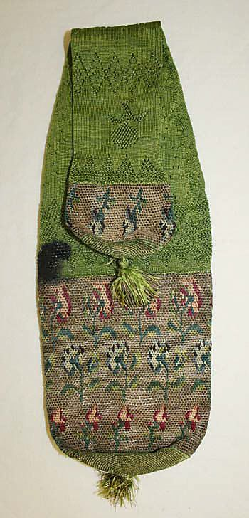 Miser's purse Date: early 18th century Culture: British Medium: [no medium available] Dimensions: Length: 20 in. (50.8 cm)
