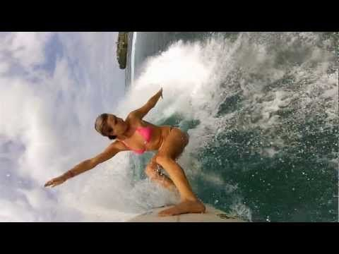 GoPro HD: Alana Blanchard and Monyca Byrne--Wickey - TV Commercial - You in HD