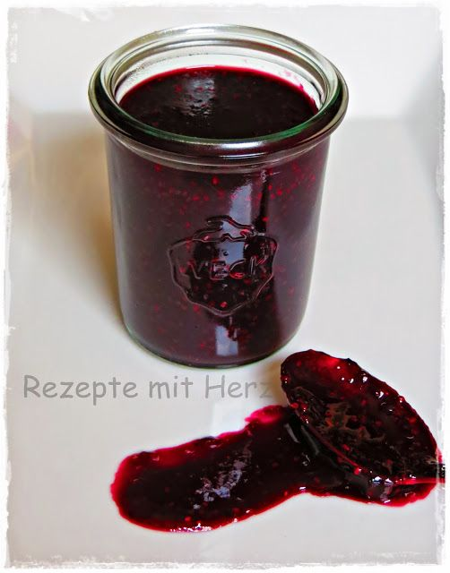 thermomix rezepte mit herz chia heidelbeermarmelade thermomix brotaufstriche dips so en. Black Bedroom Furniture Sets. Home Design Ideas