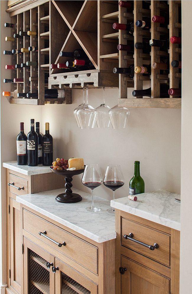Kitchen Wine Cabinet. Kitchen Wine Cabinet with Calacatta Gold Countertop. White Oak Kitchen Wine Cabinet #Kitchen #Wine #Cabinet. Connecticut Stone.