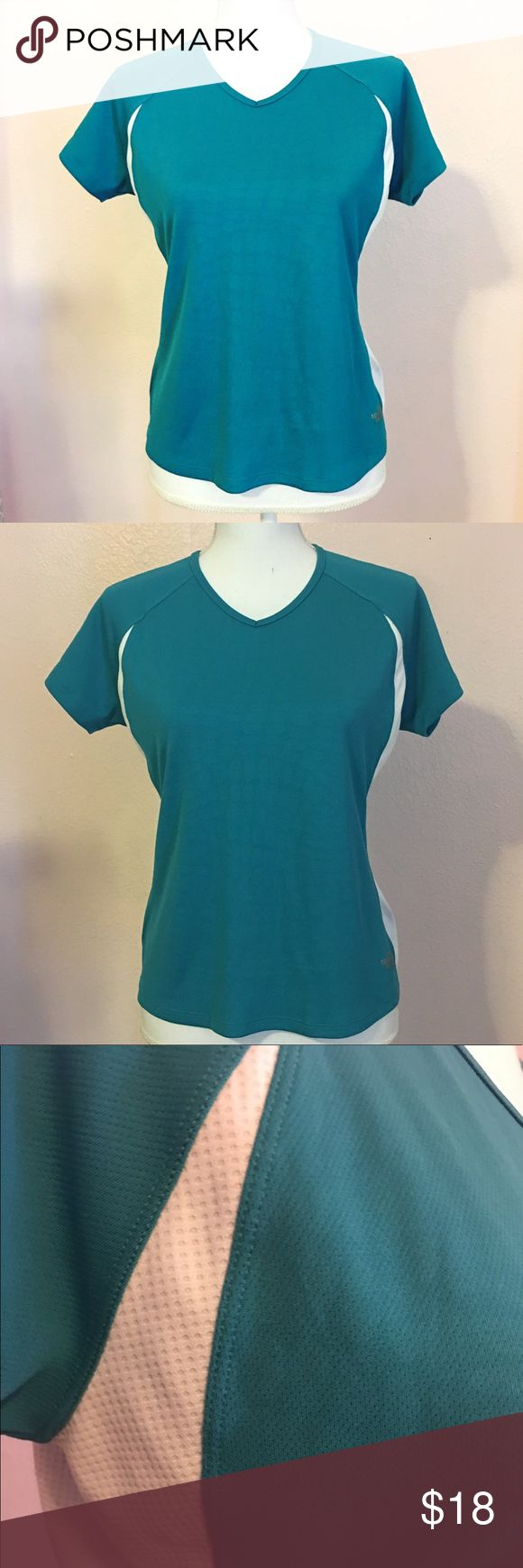 THE NORTH FACE Flight Series Teal Shirt •In excellent condition The North Face Tops Tees - Short Sleeve