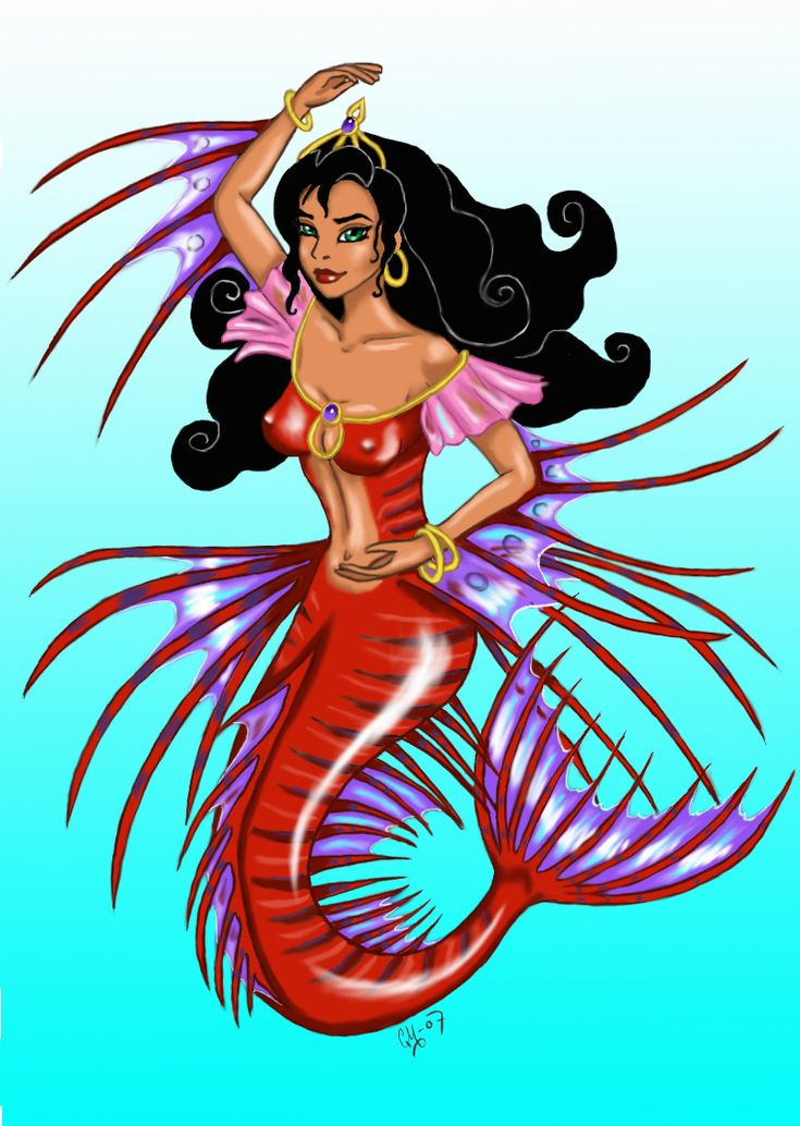 Esmeralda Mermaid Lionfish by sparvflickan.deviantart.com