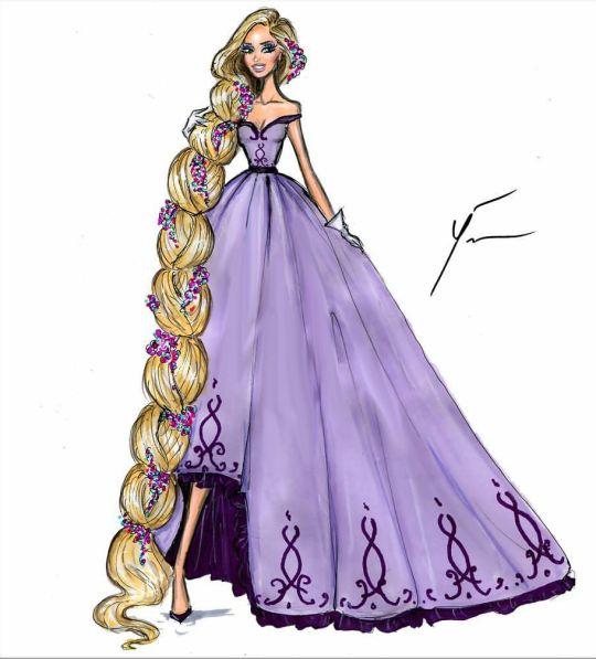 Rapunzel by Yigit Ozcakmak: