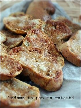 Rusk soy sauce and salty and sweet