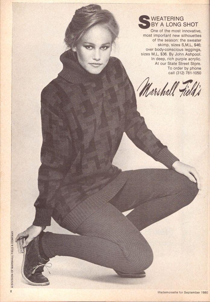 1980 Marshall Field s Department Store Print Ad Advertisement Vintage VTG 80s | eBay