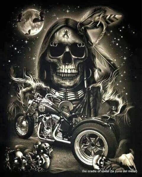 Pin By Brenda Addison On Creepy And Cool In 2019 Skull