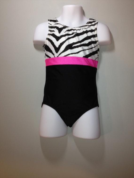 gymnastics leotard  toddler girls sizes 234 black by karinasworld, $21.00