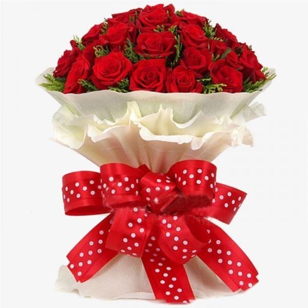 Marvelous Beauty Red Roses Flowers Bunch Flower Bouquet Delivery Online Flower Delivery Send Flowers Online