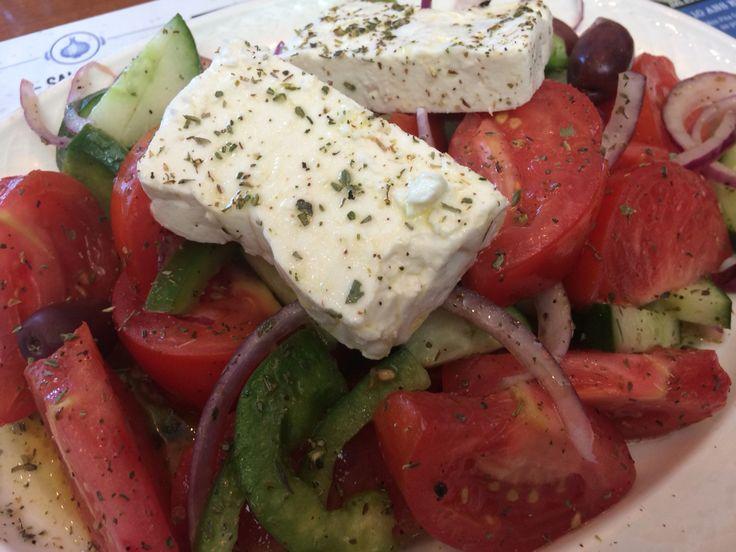 Salade grecque!!! Wow!