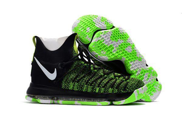 online retailer 44a0f d3051 2017 Nike KD 9 Elite Black Green For Sale