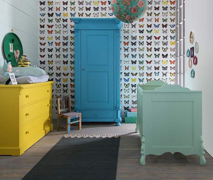 Kidsmill - Βρεφικό δωμάτιο Chalk Mix #NurseryRoom #nursery #baby #babyroom #kidsroom Kidsmill
