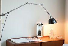 XXL Grosse Gelenklampe Midgard Bauhaus Lampe Wand Werkstattlampe Industrie Loft