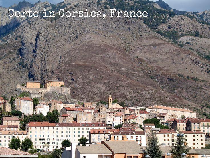Corte in Corsica, France