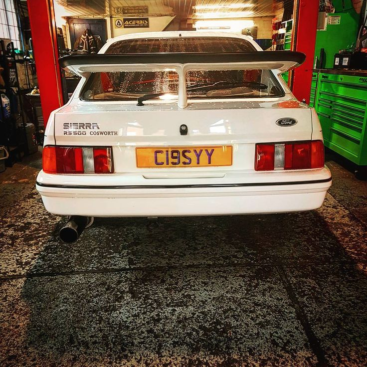 We had the plessure of this in the other day #blg #blgracing #burkitts #lane  #garage #sudbury #suffolk #mechanic #ford #sierra #cosworth #