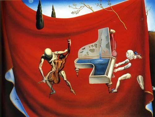 Music - The Red Orchestra, Salvador Dali -1944.