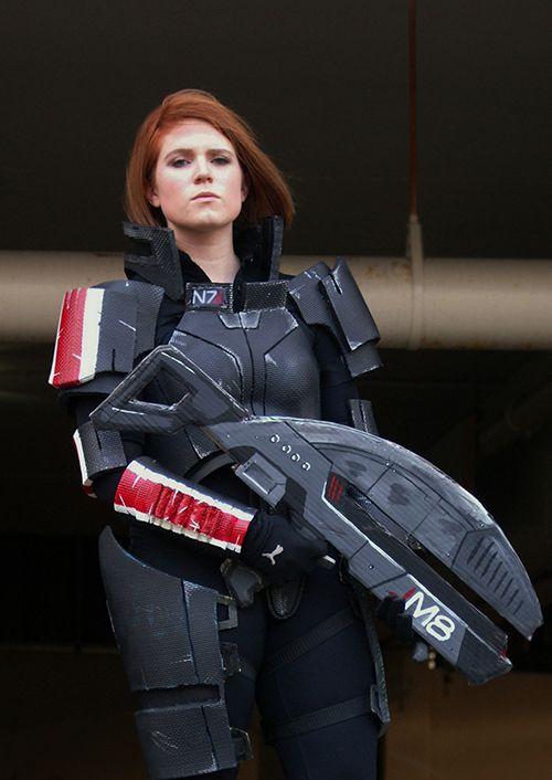Nora Ellis: Commander Shepard from Mass Effect in Otaku House Cosplay Idol 2012