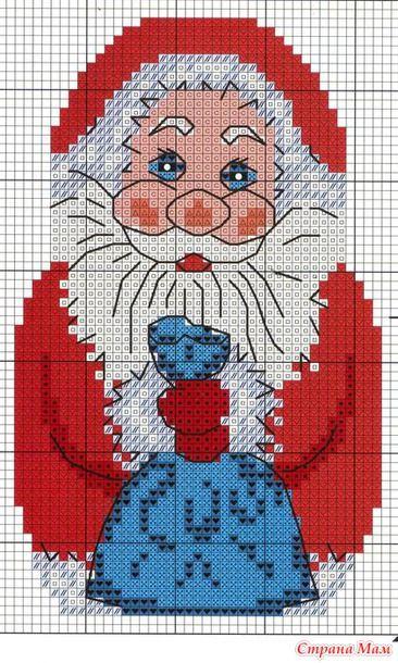 Point de croix *♥* Cross stitch - Christmas Recto
