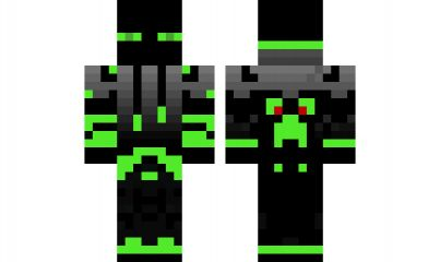 Minecraft skin enderman cool minecraft skins pinterest - Cool girl skins for minecraft pe ...