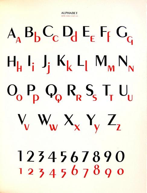 Peignot typeface by A. M. Cassandre  Peignot typeface by A. M. Cassandre in Arts et Métiers Graphiques. Paris: Hachard No. 59 1937. NC980 .A7 no.58-59