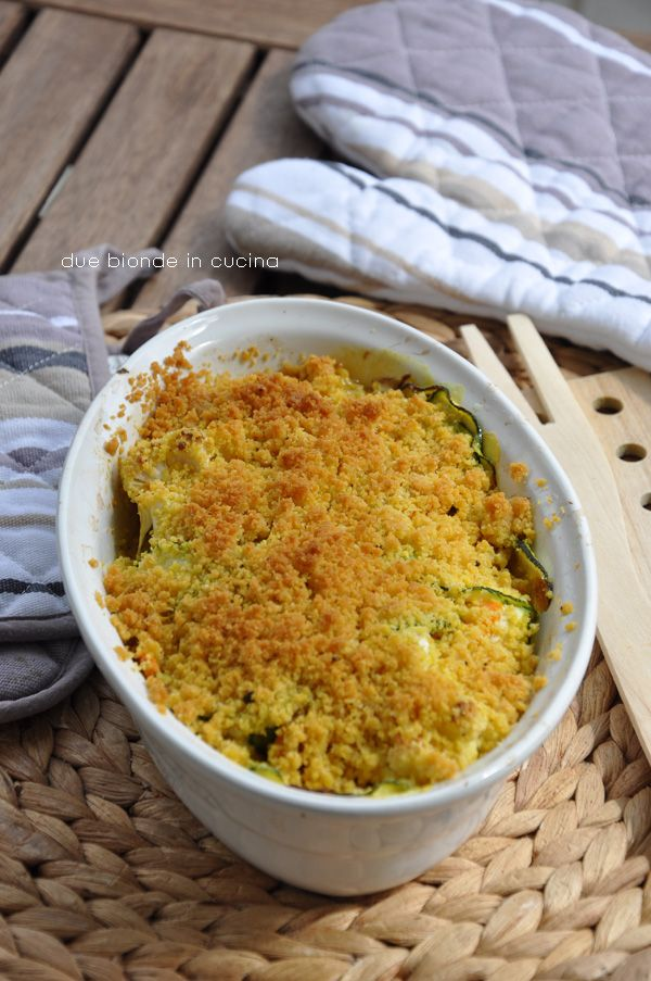 Due bionde in cucina: Crumble di verdure al curry
