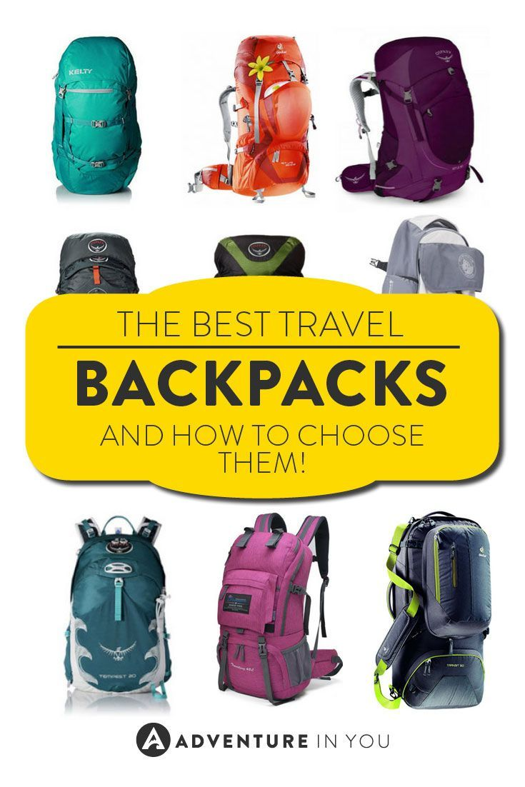 Backpacks | Looking for the best travel backpacks? Here are our top picks!