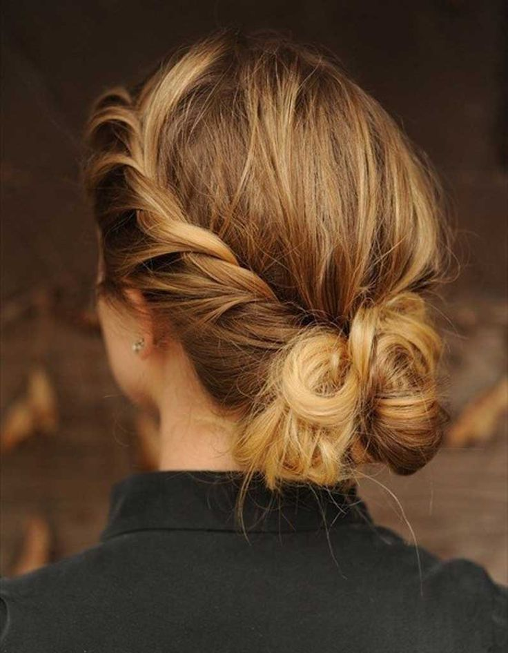 Cheveux fins coiffés