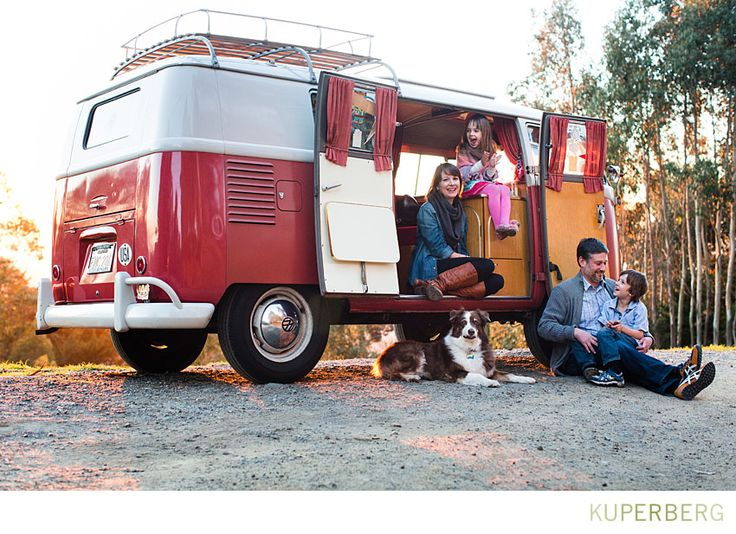 Family shoot in the Oakland Hills with VW Bus • kuperblog • anna kuperbergs photo blog