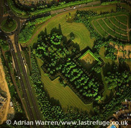 Milton Keynes Tree Cathedral, Buckinghamshire, England. © Adrian Warren - Last Refuge.co.uk