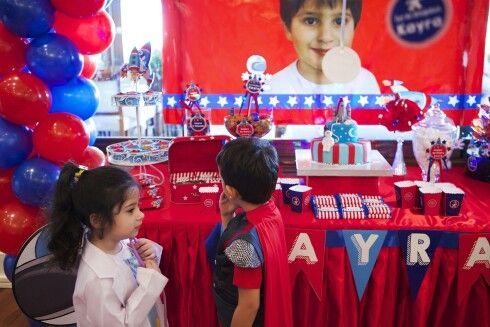 Astronot temalı Doğumgünü parti malzemeleri