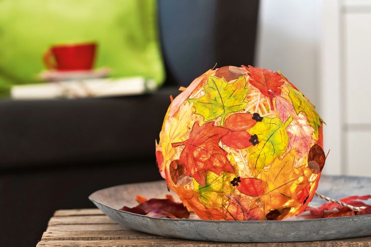Herbstdeko selber machen: Bunter Herbstzauber