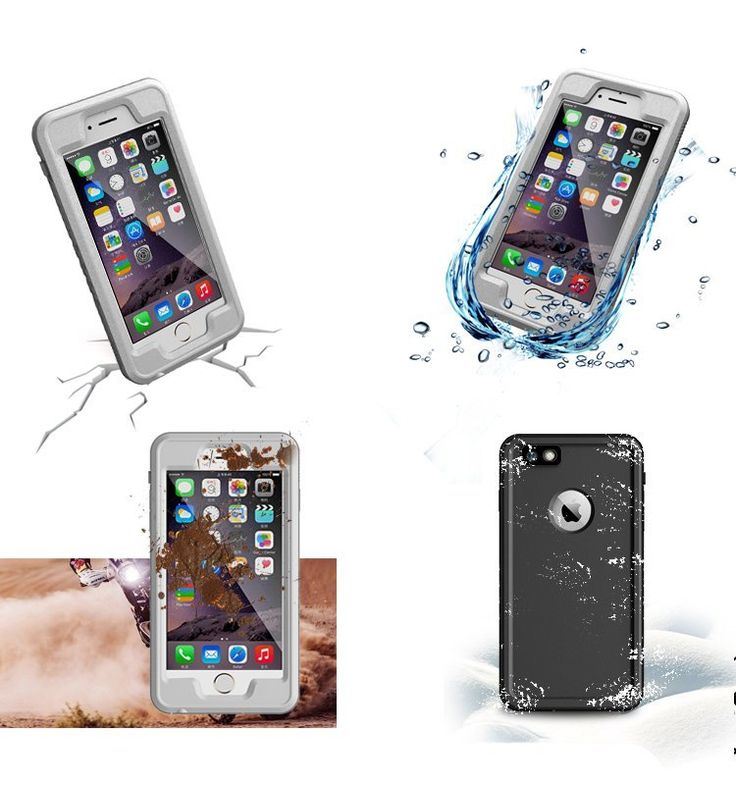Anti-dust Diving Underwater Waterproof Case For iPhone 6 6S Plus Apple 5.5…