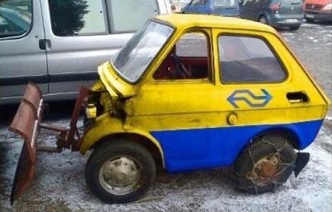 Trein-sneeuwschuivertje