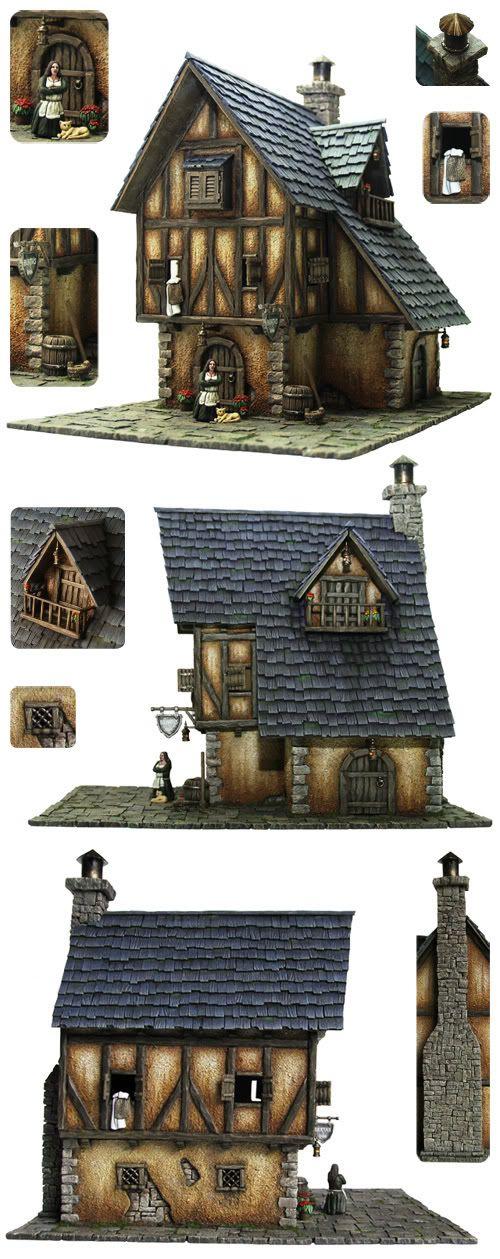 Tabletop World Medieval Inn