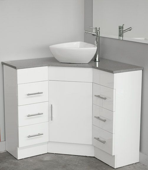 Bathroom vanity top. Caesar stone finnish that can be customised as you like. Also comes in granite.