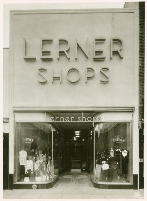 Lerner Shops (ladies clothing), Brooklyn, NYC, New York, 1930's. My mother bought all my clothes here at Beverly Hills store.
