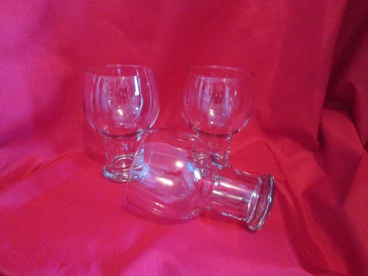 Vintage 3 verres à bière Mid-Century/ Vintage 3 beer glasses Mid-Century de la boutique Violette2881 sur Etsy