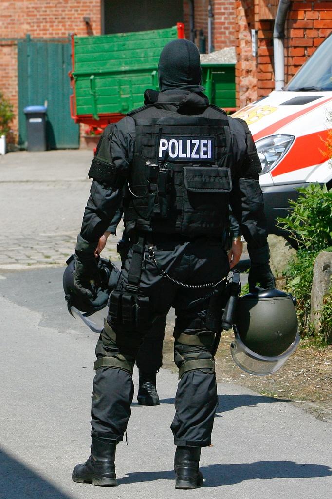 Members Of One Of Germany S Police Special Units Sek Mek