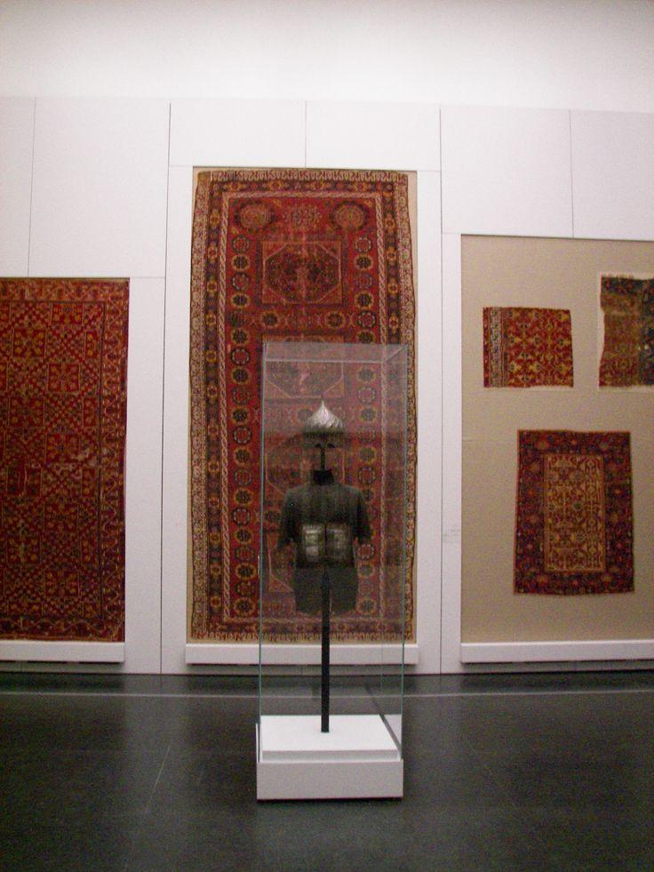 Exemples de tapis ottomans du Pergamonmuseum