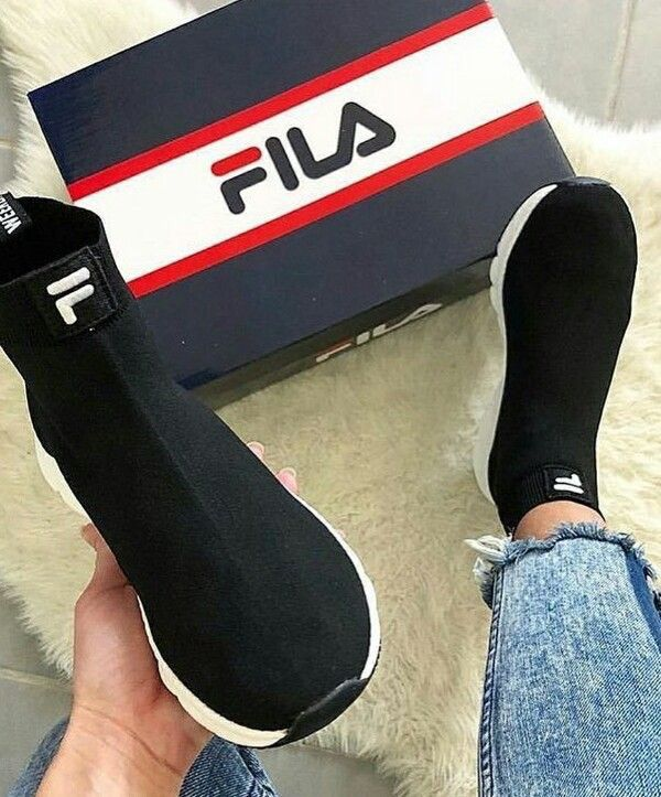 shoes #sneakers #fila #seanabeauty | Ankle shoes, Sneakers