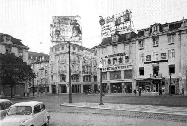 Loja-das-Meias - Rossio - 1961