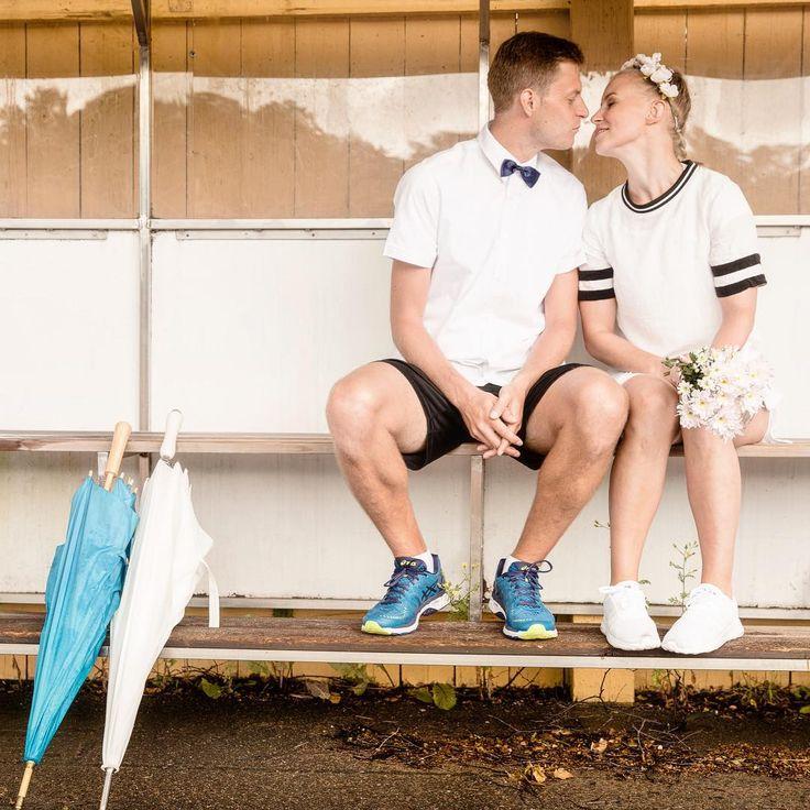 Of course we can do wedding portraits on a rainy day! They are very cute! 👰❤️🤵💍 🌺 #wedding #weddingportrait #sports #weddingphotography #weddinphotographer #weddingday #weddingdress #wedding2017 #häät #häät2017 #hääkuvaus #hääkuvia #helsinki #summerrain #sadesää #valokuvaus #valokuvaaja #hääkuvaaja
