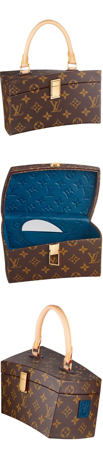 LOOKandLOVEwithLOLO~ Louis Vuitton Icon and Iconoclasts Collection. Twisted Box Frank Gehry