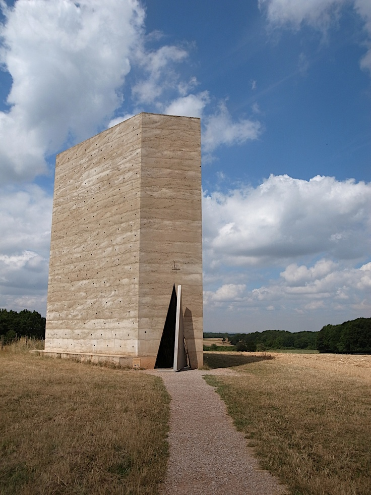 Bruder Klaus Chapel by Peter Zumthor Minimalism new