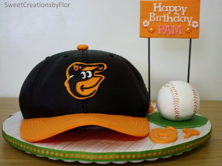 17 Best Images About Baltimore Orioles Cakes On Pinterest